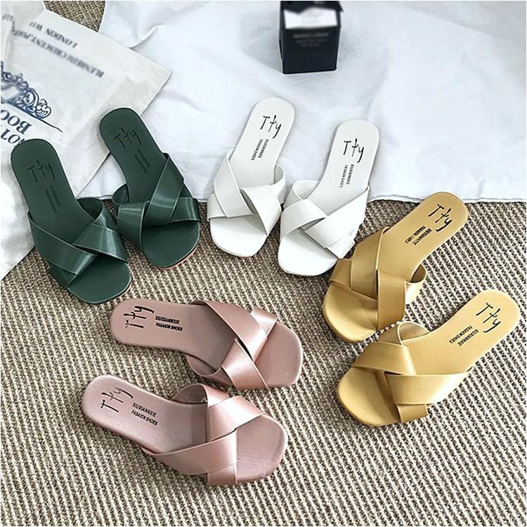 koleksi foto dan model serta gambar 0700c47fa8f9ca7a e1f4dfbea untuk sandal selop wanita