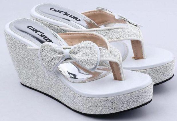 koleksi foto dan model serta gambar prd catenzo sandal wedges wanita jk 521 dari Catenzo