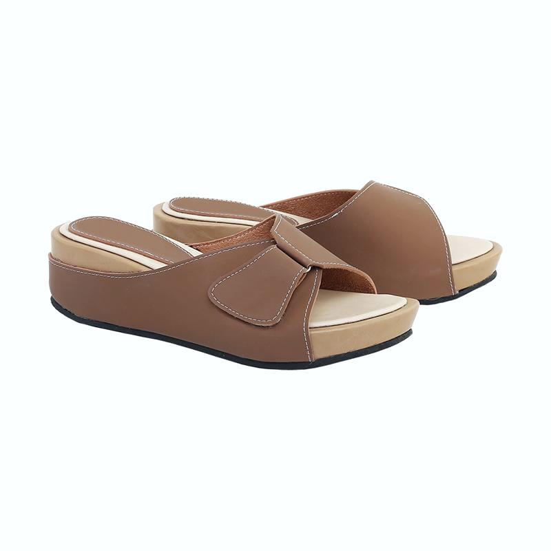 koleksi foto dan model serta gambar re mended re mended sandal wedges wanita 418 coklat full02 pqv1l4h6 terkait Sandal Wedges