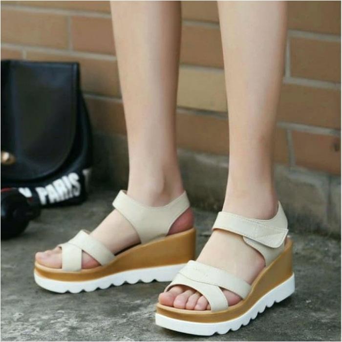 koleksi foto dan model serta gambar Sandal Wedges Terbaru 3 tentang Sandal Wedges Wanita Terbaru – Cepet Laku
