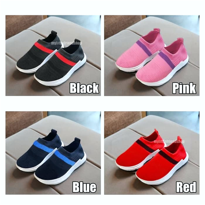 koleksi foto dan model serta gambar B dari Sepatu Olahraga Sneakers Kets Anak Perempuan Tk Sd