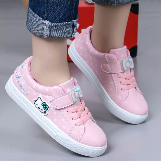 koleksi foto dan model serta gambar Sepatu anak perempuan karton gambar Hellokity fashion import SP 02 i untuk Sepatu Anak Perempuan