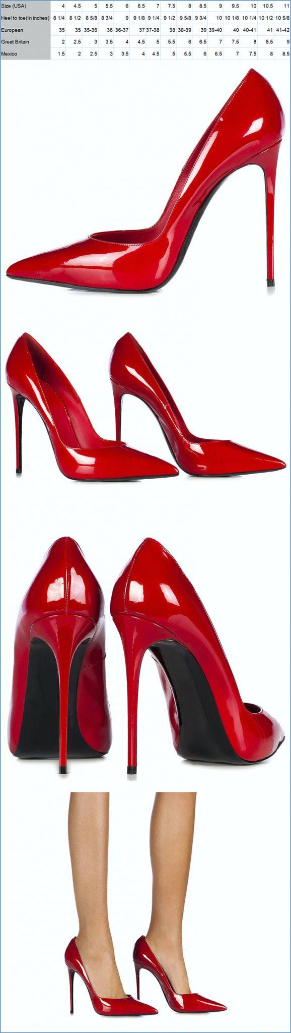 2020 popular new style 12cm red thin high heels la s shoes dari Sepatu High Heels Wanita