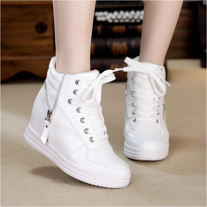 boot wedges zr014 putihsepatu boot putihsepatu wedges mengenai sepatu wedges wanita