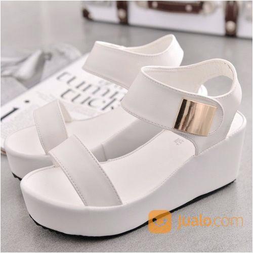 iklan sepatu wedges wanita modis 6cm shwk8 dari Sepatu Wedges Wanita Modis 6CM SHWK8