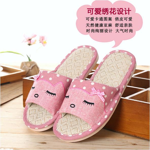 koleksi foto dan model serta gambar sandal selop wanita cute indoor size 37 38 pink tentang ELEGANTJ Sandal Selop Wanita Cute Indoor ZJ MM Size 37 38