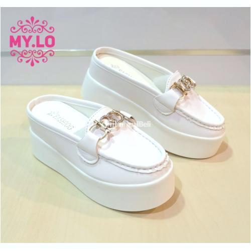 koleksi foto dan model serta gambar 1 SANDAL SEPATU WEDGES CASUAL WANITA IMPORT MYLO MS0767 berhubungan dengan Sepatu Sandal Wedges Casual Wanita Bahan Import Berkualitas
