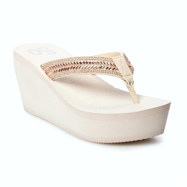 koleksi foto dan model serta gambar so bubbly womens wedge sandals jsp berhubungan dengan SO Bubbly Women s Wedge Sandals