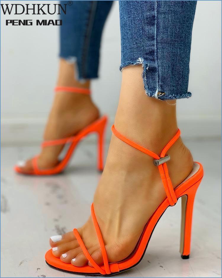 Musim Panas Sepatu Hak Tinggi Baru Sepatu Hak Tinggi Nyaman Sepatu Wanita Sandal Seksi Pesta Sepatu untuk Sepatu High Heels Wanita