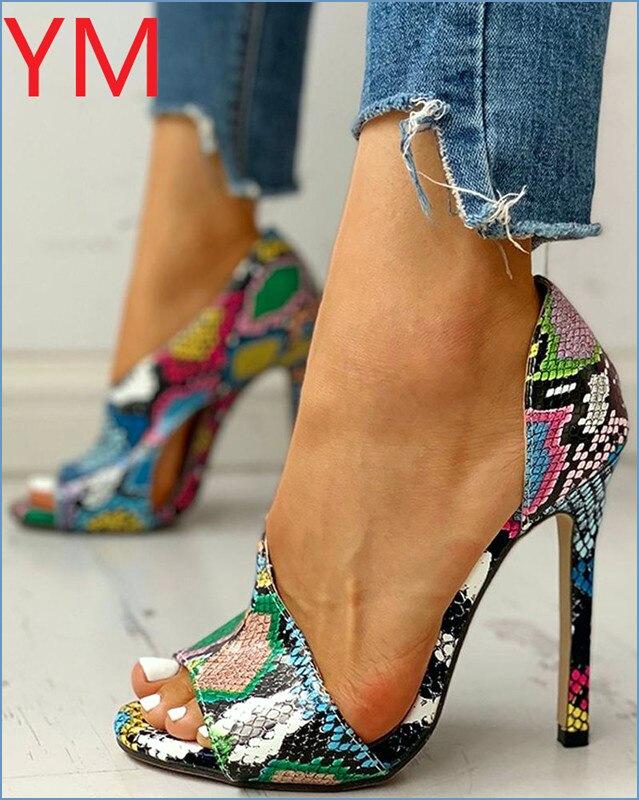 Panas Wanita Pompa Sepatu Baru Peep Toe High Heels Seksi Wanita Pesta Stiletto Enlargers Perempuan Pernikahan mengenai Sepatu High Heels Wanita