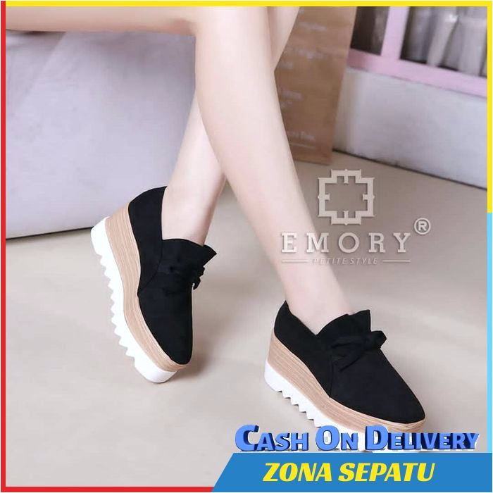 Sepatu Wedges Wanita STELLA Pita Platform Simple Cantik EXR nEAYxlnsQ8s untuk Jual Sepatu Wedges Wanita STELLA Pita Platform Simple Cantik