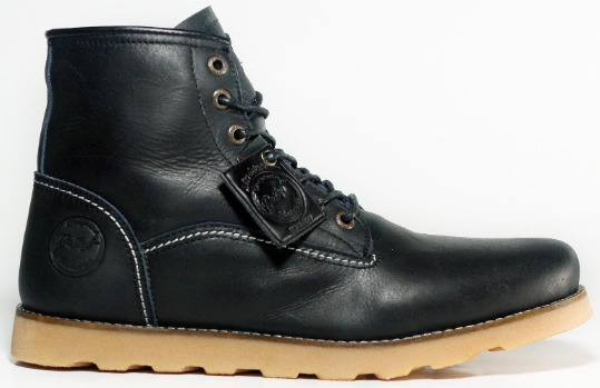 BRADLEyS ROAD - Sepatu Boots Kulit Sapi Asli 100% Sepatu Boots Formal Sepatu Boots Pria Kantor Kerja Motor Pantofel Boots