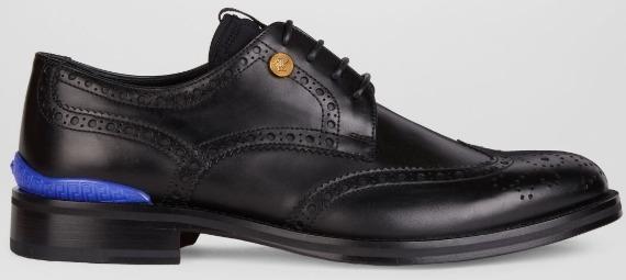 HYPERION BROGUES sepatu kulit versace