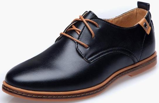 Sepatu formal pantofel merk Pinsv