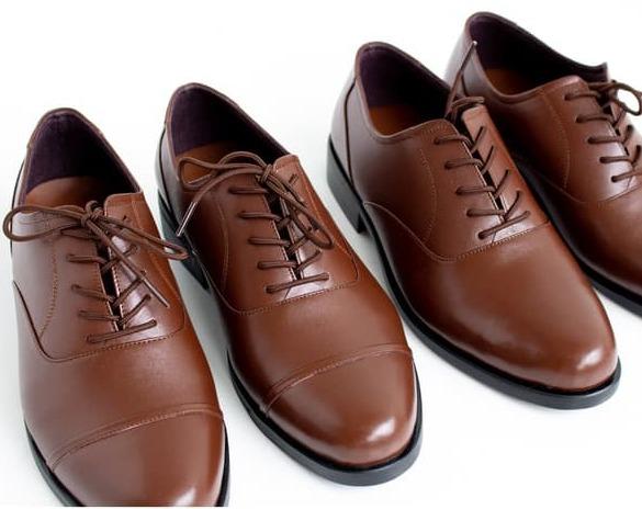 Oxford Boston Sepatu Kulit Pria