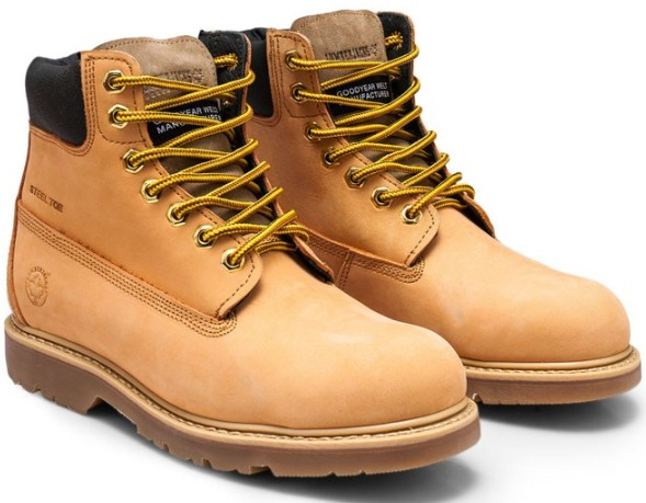 Sepatu boots pria lumberjacks Steel Toe Cap Boots