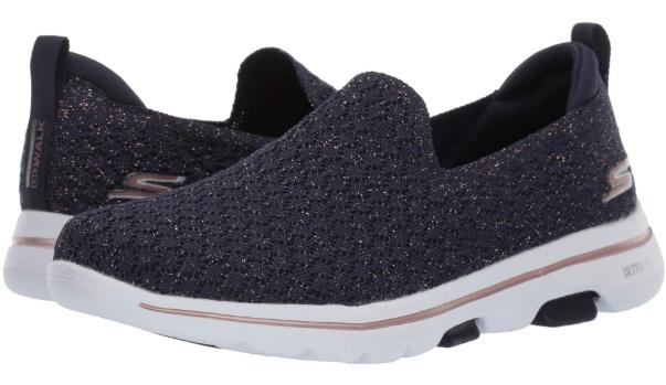 Sepatu skechers wanita Skechers GOwalk 5 Brave Women