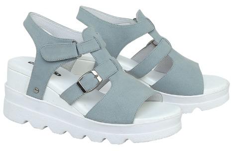 Catenzo Sandal Wedges Wanita DO 028