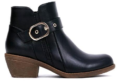 Clarette Signature Boots Christal Black