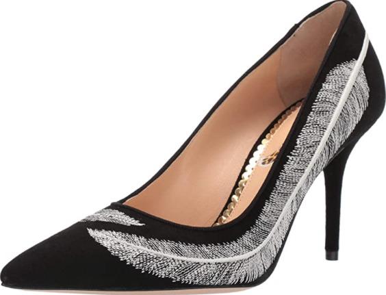 Sepatu wanita terkenal Charlotte Olympia heels pump