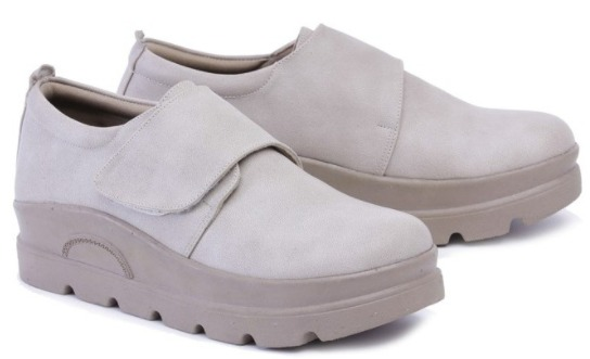 Garsel Shoes Sepatu Casual Wanita GYT 5476 ABU