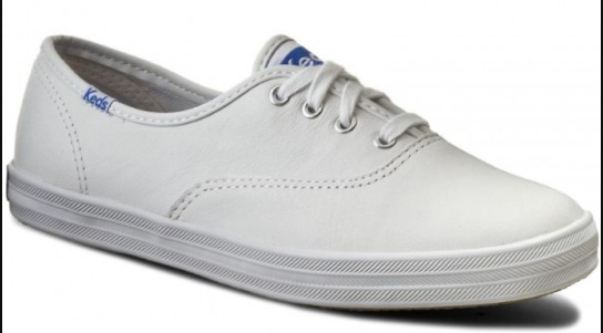 Sepatu Kets Wanita Keds Champion Leather White WH45750