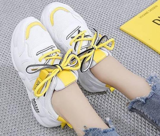 Sepatu Fashion Casual Wanita Import Stabilo