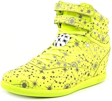 Foto gambar model sepatu wedges wanita terbaru Reebok Melody Ehsani X Freestyle Wedges