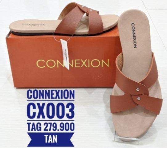 koleksi foto gambar Sandal Selop Wanita Connexion model terbaru