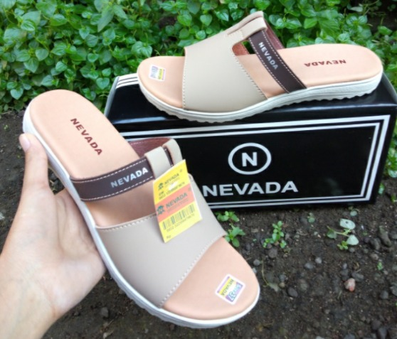 koleksi foto dan gambar Sandal Selop Wanita Nevada 01 model terbaru
