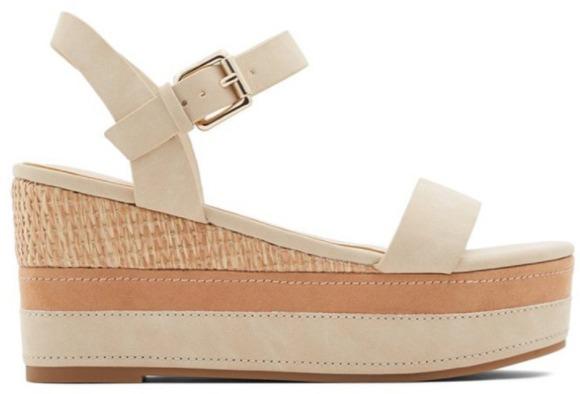 foto gambar model Sandal Wedges wanita ALDO Lawani