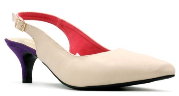 foto gambar Sepatu Hak Wanita Yongki Komaladi Heels EDR1 - 10060RR Cream