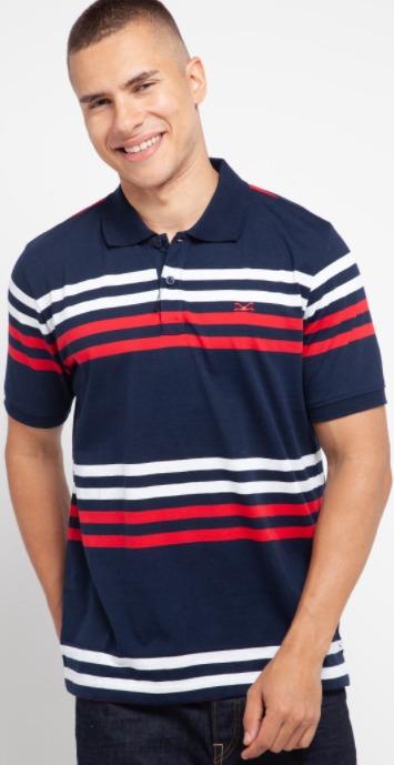 harga kaos polo pria shirt merk CARVIL Corado-1 original koleksi foto gambar model terbaru