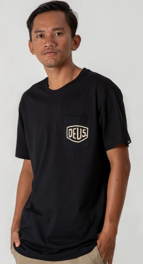 Kaos t-shirt pria model terbaru dan harga Deus Ex Machina Canggu Address NF