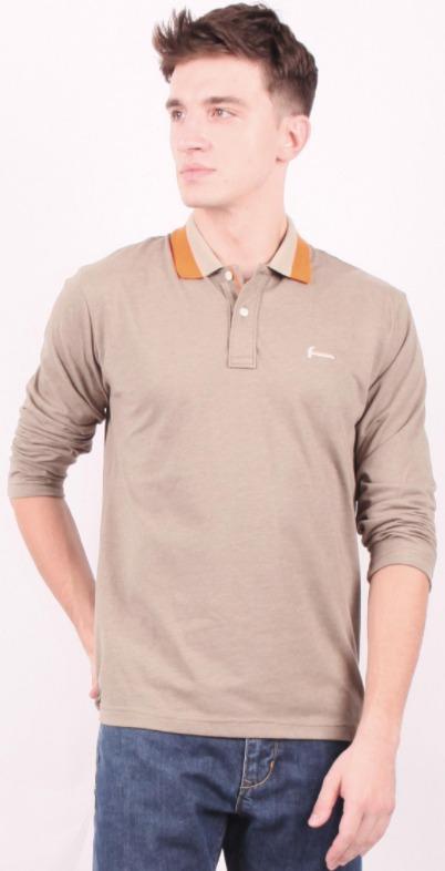 harga kaos polo shirt pria merk Hammer Man Polo Fashion E1PF559 G1 original koleksi foto gambar model terbaru
