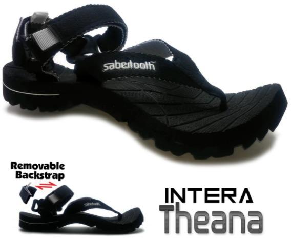 koleksi foto merk sandal pria terbaik SABERTOOTH Sandal Gunung Traventure Intera Theana model terbaru