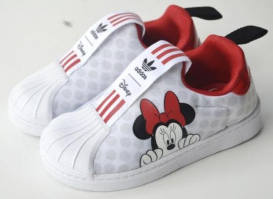 Foto gambar Sepatu Anak Perempuan Adidas Superstar 360 Disney Minnie Cloud