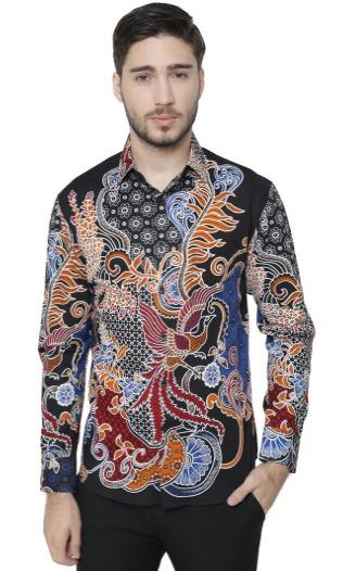 Kemeja Batik Pria merk Agrapana