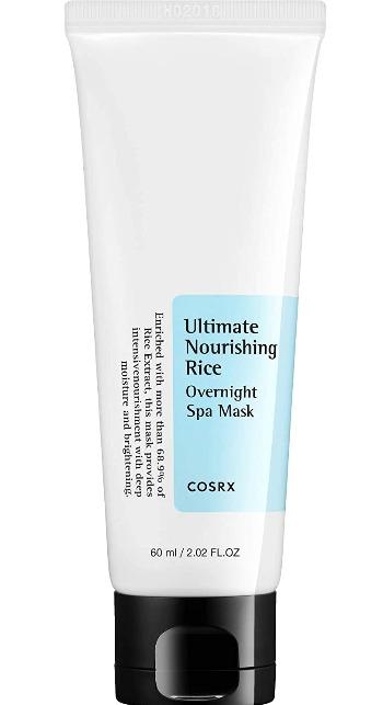 COSRX Ultimate Nourishing Rice Overnight Spa Mask