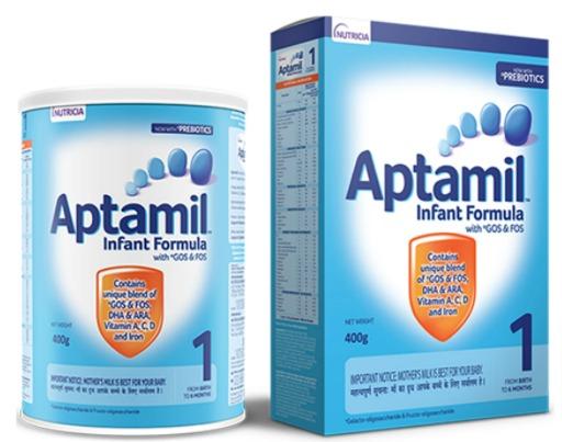 Aptamil Infant Formula with GOS & FOS