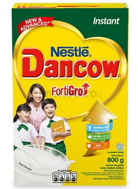 Susu Peninggi Badan Dancow FortiGro Instant