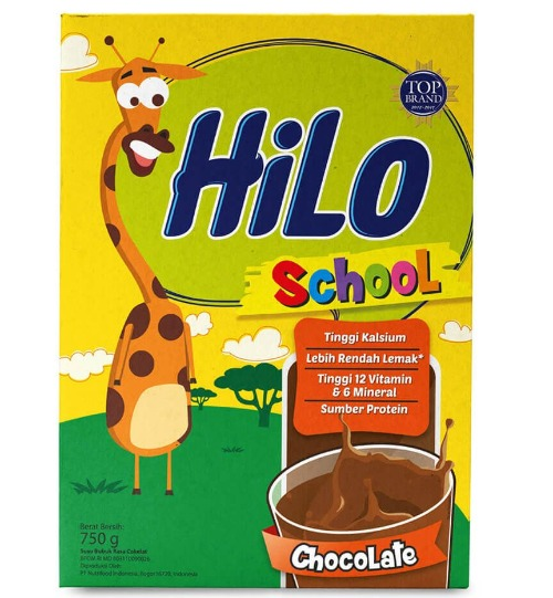Susu peninggi badan HiLo School