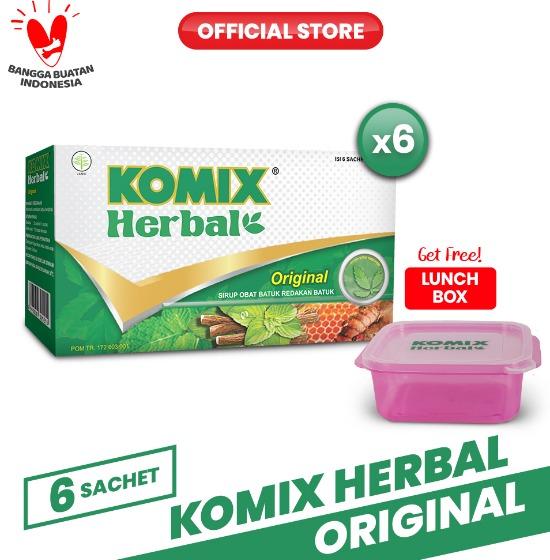 Komix Herbal Original Sachet