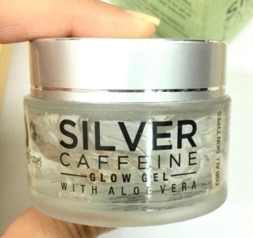 Mcaffeine Silver Caffeine Glow Gel With Aloe Vera