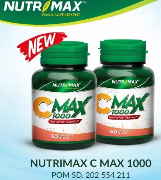 Nutrimax C Max 1000 Mg
