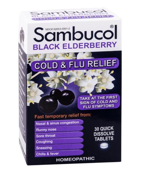 Sambucol Black Elderberry Cold & Flu Relief