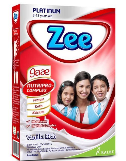 Susu Pertumbuhan Merk Zee Platinum