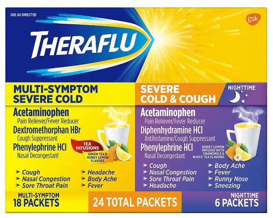 Theraflu Multi Symptom Severe Cold