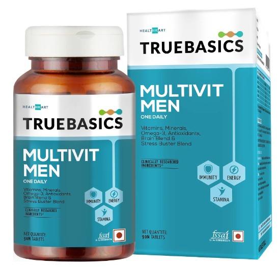 TrueBasics Multivit Men for Stamina & Energy