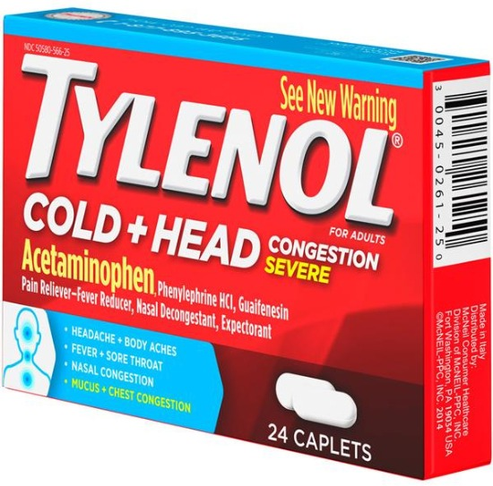 Tylenol Cold + Head Congestion Severe
